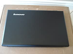 Lenovo - IdeaPad N585 Laptop / AMD Dual-Core E1-1200 processor / 2GB DDR3 / 320GB Hard Drive / DVD±RW/CD-RW Drive / Built-in Webcam / Windows 8 / Black
