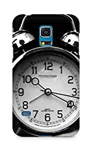 AMEZ designer printed 3d premium high quality back case cover for Samsung Galaxy S5 Mini (clock time)