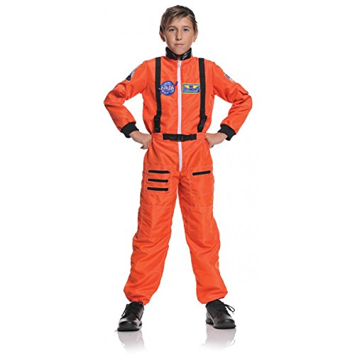 Kids-Costume Astronaut Orange Child 4-6 Halloween Costume - Child 4-6