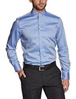 Tommy Hilfiger Tailored Shtfks14405 - Chemise business - Coupe droite - Col italien - Manches longues - Homme