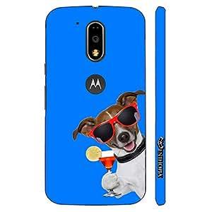 Enthopia Designer Hardshell Case DOG SAYS CHEERS Back Cover for Motorola Moto G4, Moto G4 Plus