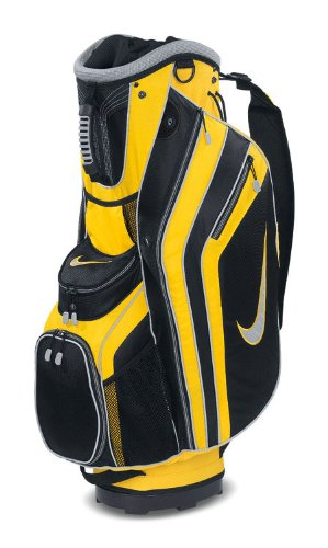 New Nike 2011 Sport Golf Cart Bag (Maize/Black)