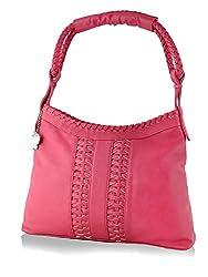Butterflies Women's Handbag (Pink) (BNS 0535 PK)
