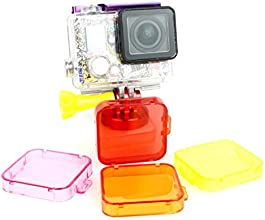 Blue Brand Camera Filter Cover Lens Protection Ring Suitable For Gopro Hero 3Purple