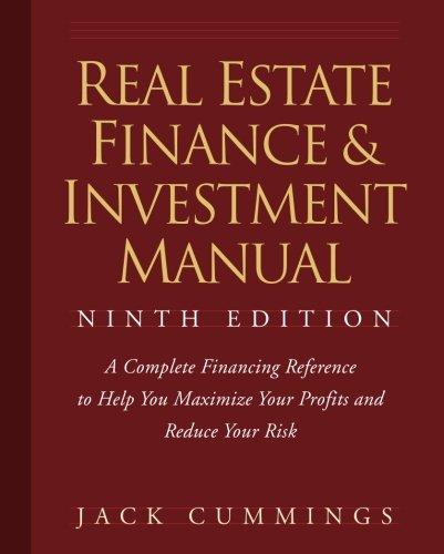 Real Estate Finance 9e