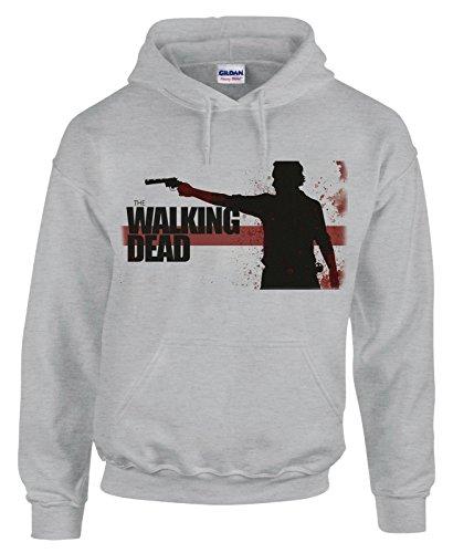 Felpa con cappuccio The walking dead - serie tv - in cotone by Fashwork