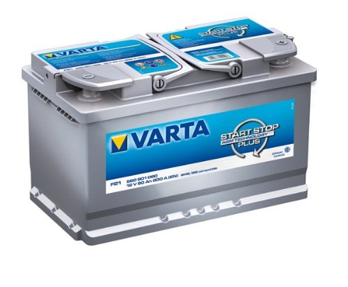 VARTA START-STOP PLUS AUTOBATTERIE F21 12V 80AH