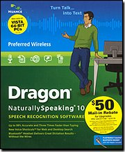 Dragon Naturallyspeaking 10 Preferred Wireless [Old Version]