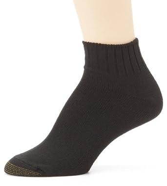 Gold Toe Women's 3-Pack Softwear Shortie Sock, Black, Size ...