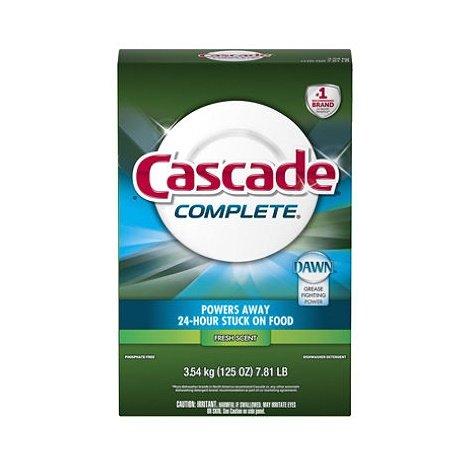 Cascade Complete, Powder Dishwasher Detergent, Fresh Scent 125 Oz (Cascade Dishwashing Powder compare prices)