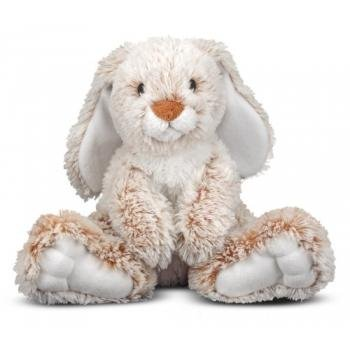 "Melissa & Doug Princess Soft Toys 14"" Plush Burrow Bunny front-369961"