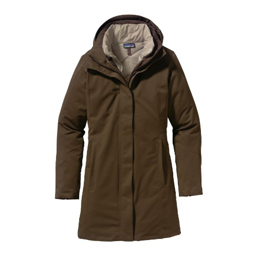 Patagonia Women's Tres Parka - Peat Brown XL Apparel