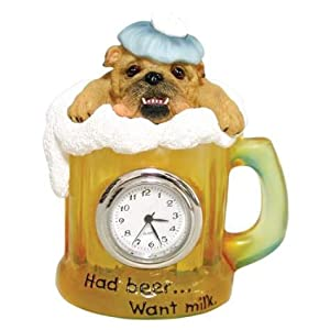 Zelda Wisdom Had Beer ... want milk Mini Clock