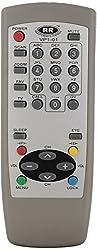 Sharp Plus Videocon VP1-01 TV Remote (SP) (Off-white)