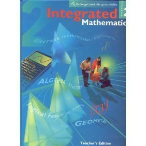 Integrated Mathematics, Vol. 3, Teacher's Edition