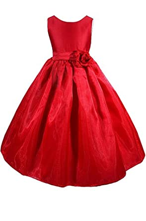 Wedding flower girl pageant christmas dress special occasion dresses