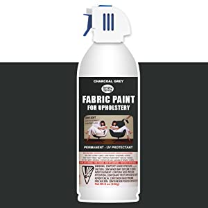 simply spray upholstery fabric spray paint 8 oz can charcoal grey. Black Bedroom Furniture Sets. Home Design Ideas