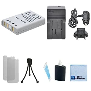 EN-EL5 Battery Replacement + Car/Home Charger For Nikon Coolpix 3700, 4200, 5200, 5900, 7900, P3, P4, P5000, P5100, P6000, P80, P90, P100, P500, P510, P520, S10 & More... Camera + Complete Starter Kit