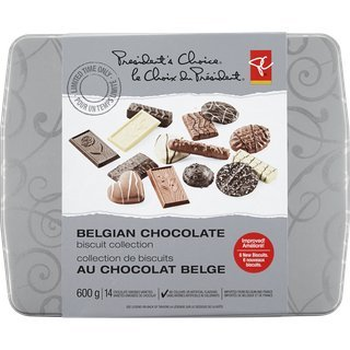 President's Choice - Belgian Chocolate Biscuit Collection - 600g
