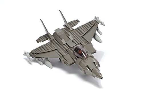 Ultimate-Soldier-Fighter-Jet-Military-Building-Kit-Grey