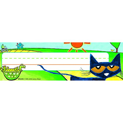 NEW! Pete the Cat Nameplates (Pete The Cat Bulletin Board Set compare prices)