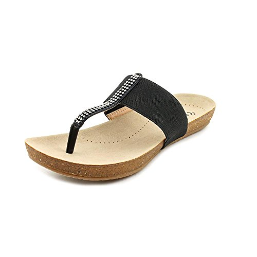 BareTraps Women's Hatsy Dress Sandal,Black,7 M US
