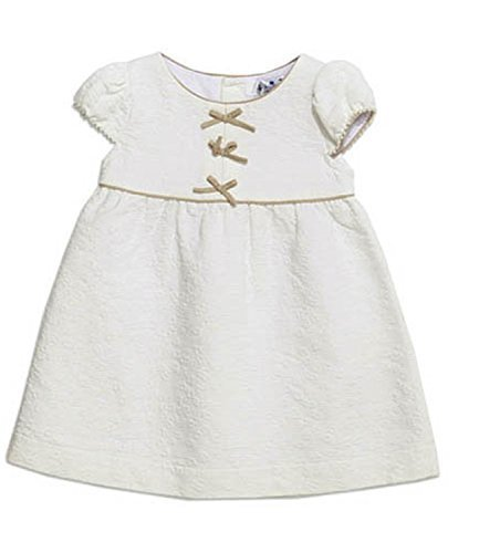 Bimbo Bambino Abito 6m - 2yrs - To Be Too Italia - cotone, Bianco, 15% poliestere\n\t\t\t\t 85% cotone 15% poliestere, Bambina, 74cm - approx 6-9 months, Bianco