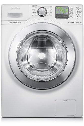 Samsung WF1114XBD machine à laver - machines à laver (Autonome, Charge avant, A+++, A, Argent, Blanc)