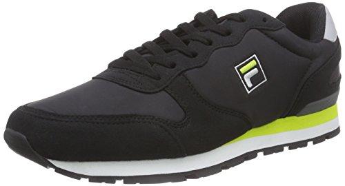 FilaQuincy Low - Scarpe da ginnastica basse da uomo, nero , 45