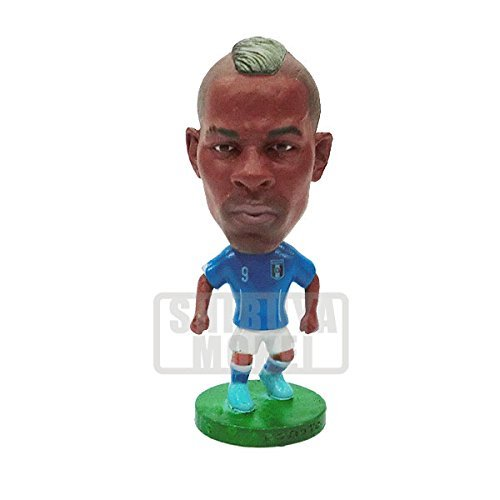"New Design 2014 Fifa World Cup Italy Home BALOTELLI Football Team Soccer Doll Toy Figure 2.5"" - 1"