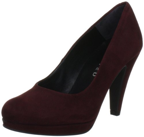 SELECTED FEMME Nina High Heel Suede Pumps Womens Brown Braun (RUSSET BROWN) Size: 4 (37 EU)
