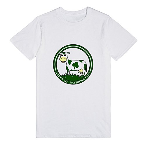 happy-st-patricks-cow-exclusive-quality-t-shirt-for-herren-xs-shirt
