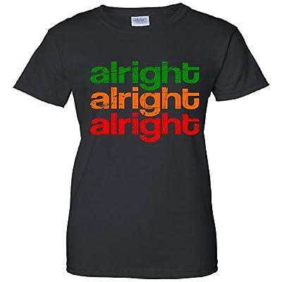 Alright Alright Alright Retro Women's T-Shirt