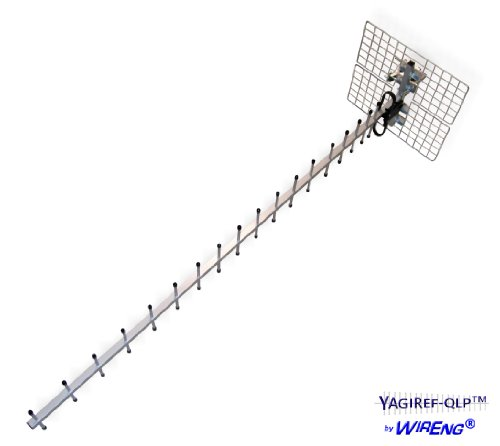 Yagiref-Qlp™ 25Db Wide Band Antenna For Amplifiers, Boosters, Repeaters, Modems, Hotspots