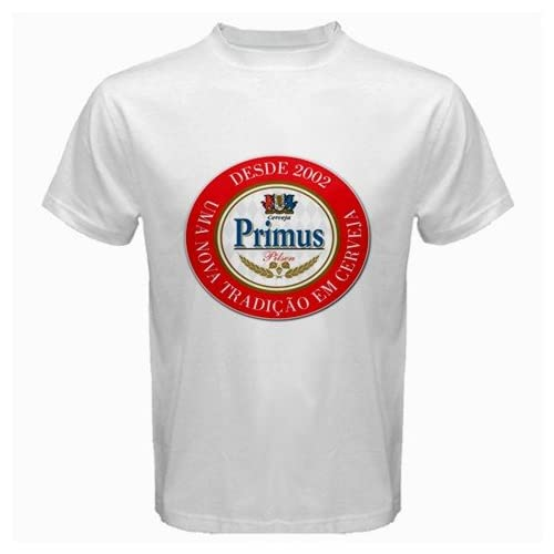 "Amazon.com: PRIMUS CONGO BEER Logo New White T-Shirt Size "" S, M ,L"