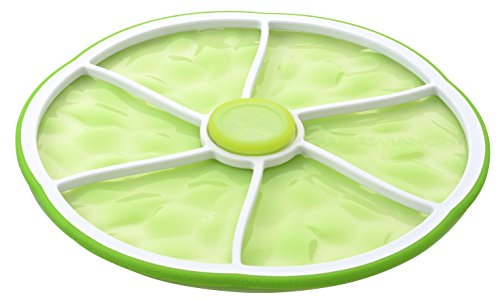 Charles Viancin 4203 8-Inch Citrus Stacking Lid, Medium/Small, Lime