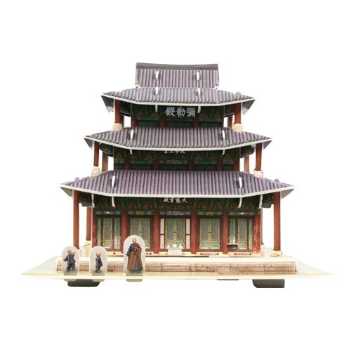 Jigsaw 3D Puzzle Korea Culture Series - Geumsansa Mireukjeon - 1