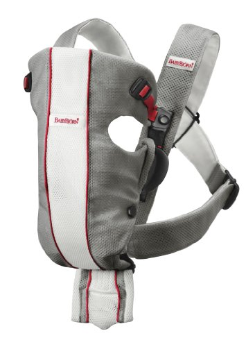 Review BABYBJORN Baby Carrier Original- Gray/White, Mesh