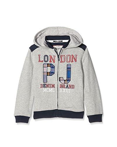 Pepe Jeans London Giacca Felpa Fabricio [Grigio Scuro]