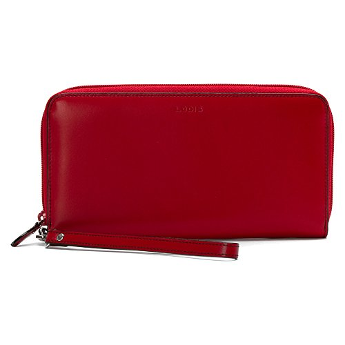 Image of Lodis Women's Audrey Vera Wristlet Wallet Red none none