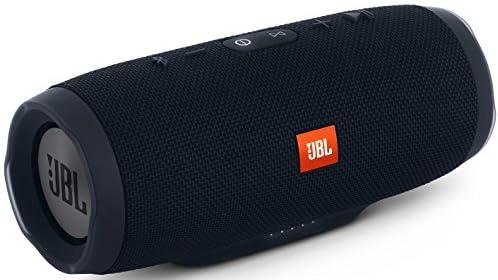 【国内正規品】JBL CHARGE3 Bluetoothスピーカー IPX7防水機能 パッシブラジエーター搭載 ポータブル/ワイヤレス対応 ブラック JBLCHARGE3BLKJN