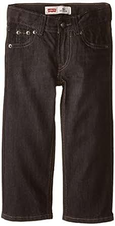 Levi's Big Boys' Slim 505 Regular Fit Jean, Levine, 8 Small