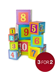 Stacking Blocks 1 to 10 Puzzle Game