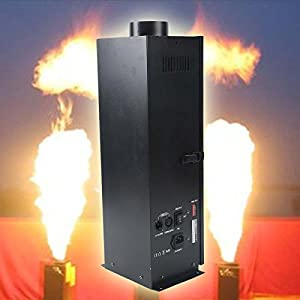 Tengchang 200W DMX Fire Effect Flame Thrower DJ Band Stage Projector Machine Show Party