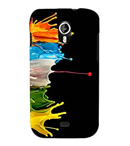 printtech Color Splash Back Case Cover for Micromax Canvas HD A116::Micromax Canvas HD Plus A116Q