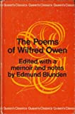 Poems (Queen's Classics) (0701002581) by Owen, Wilfred