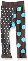 Trumpette Baby Dot Turquoise Leggings, Multi, 6-12 Medium