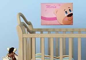 Cuadros bebé Osito curioso marca Enkolor en BebeHogar.com