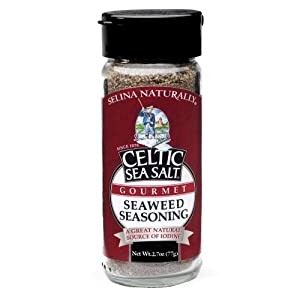 Celtic Sea Salt Gourmet Seaweed Seasoning, 2.7 Oz. by Celtic Sea Salt