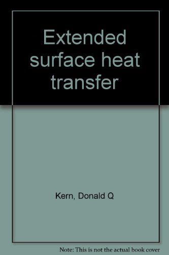 Extended surface heat transfer PDF